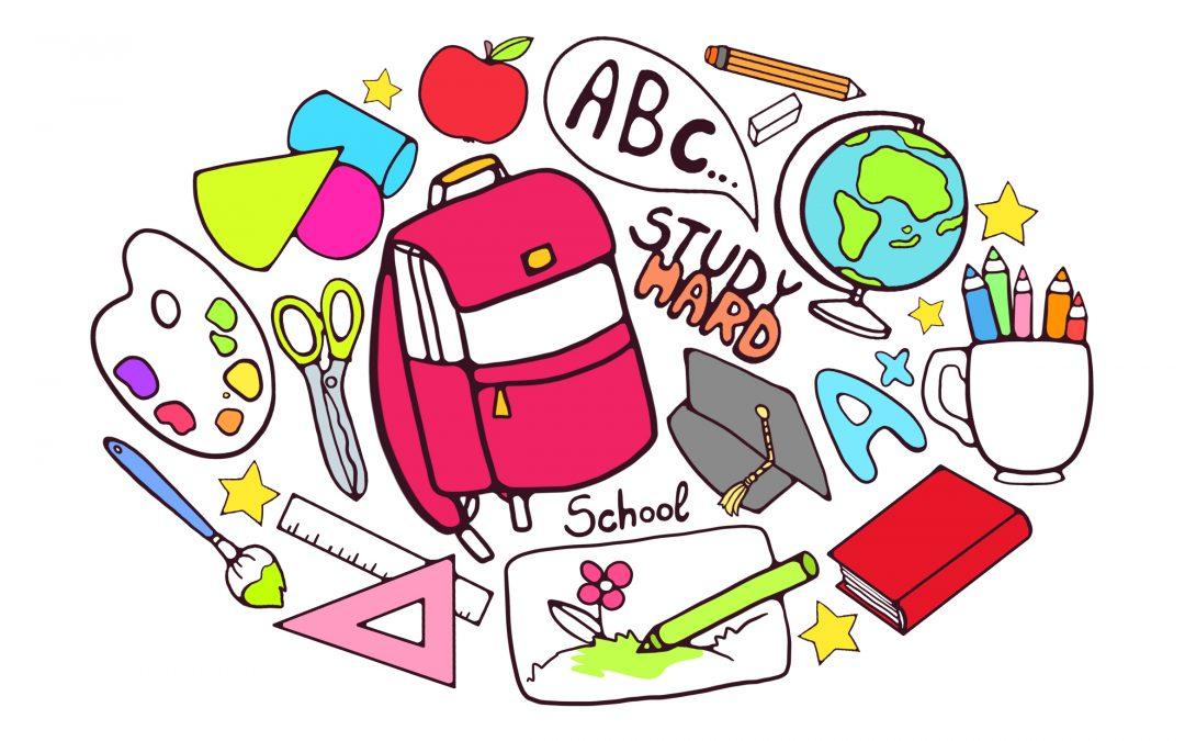 Školské pomôcky žiakov na školský rok 2020/2021