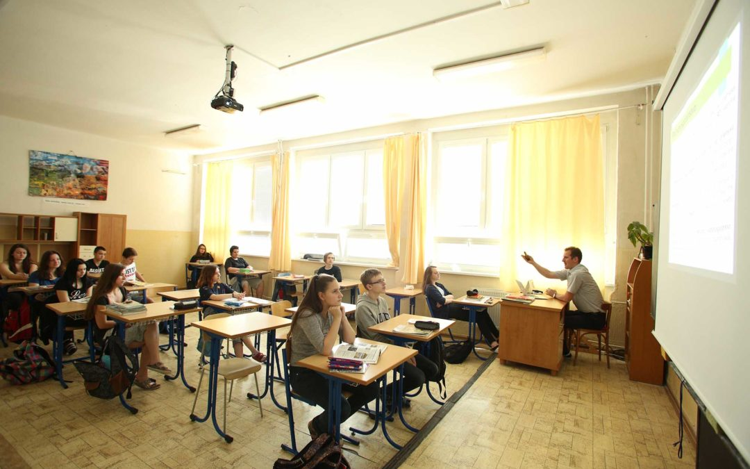Prihlášky na štúdium na strednej škole
