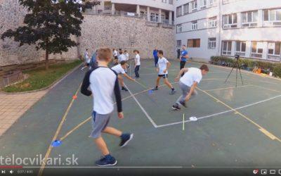Rozvoj reakčnej rýchlosti s palicami a loptičkami