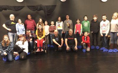 Workshop v Divadle bez domova