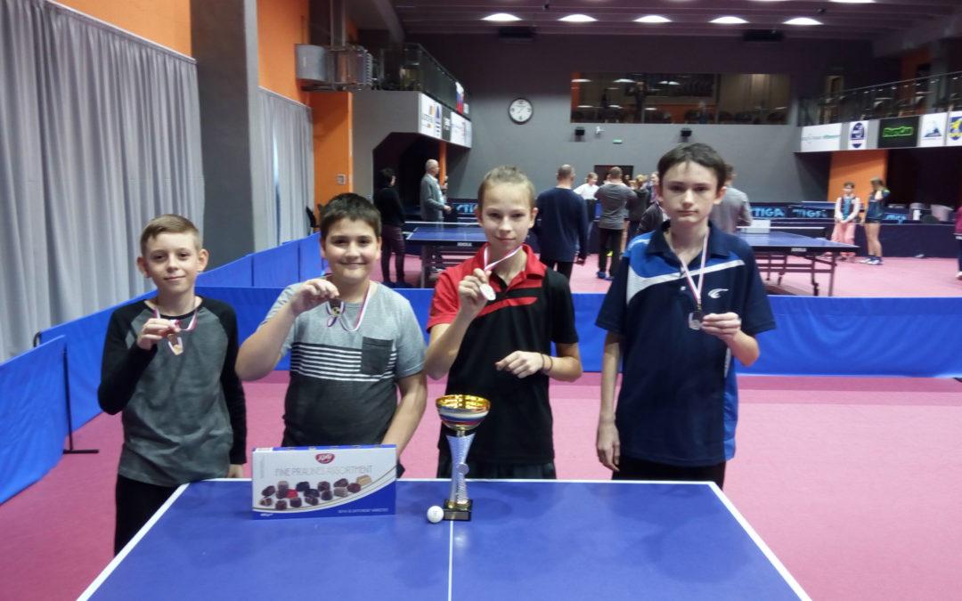 Bronzová priečka v Stolnotenisovom turnaji