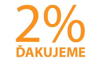 Prosba o podporu školy 2% Vašich daní