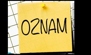 Informácia k otvoreniu školy