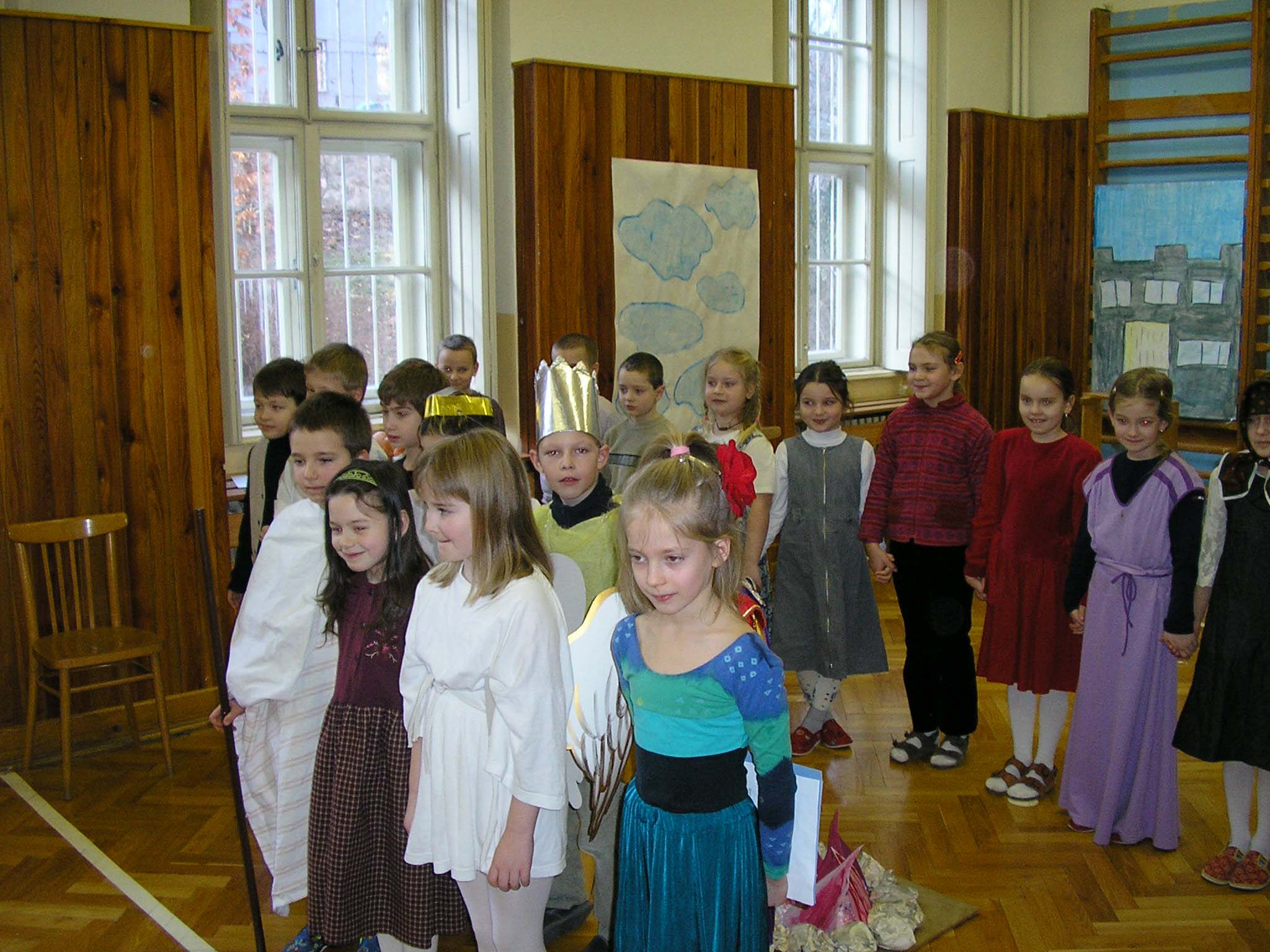 Vianoce 1. stupeň 2004