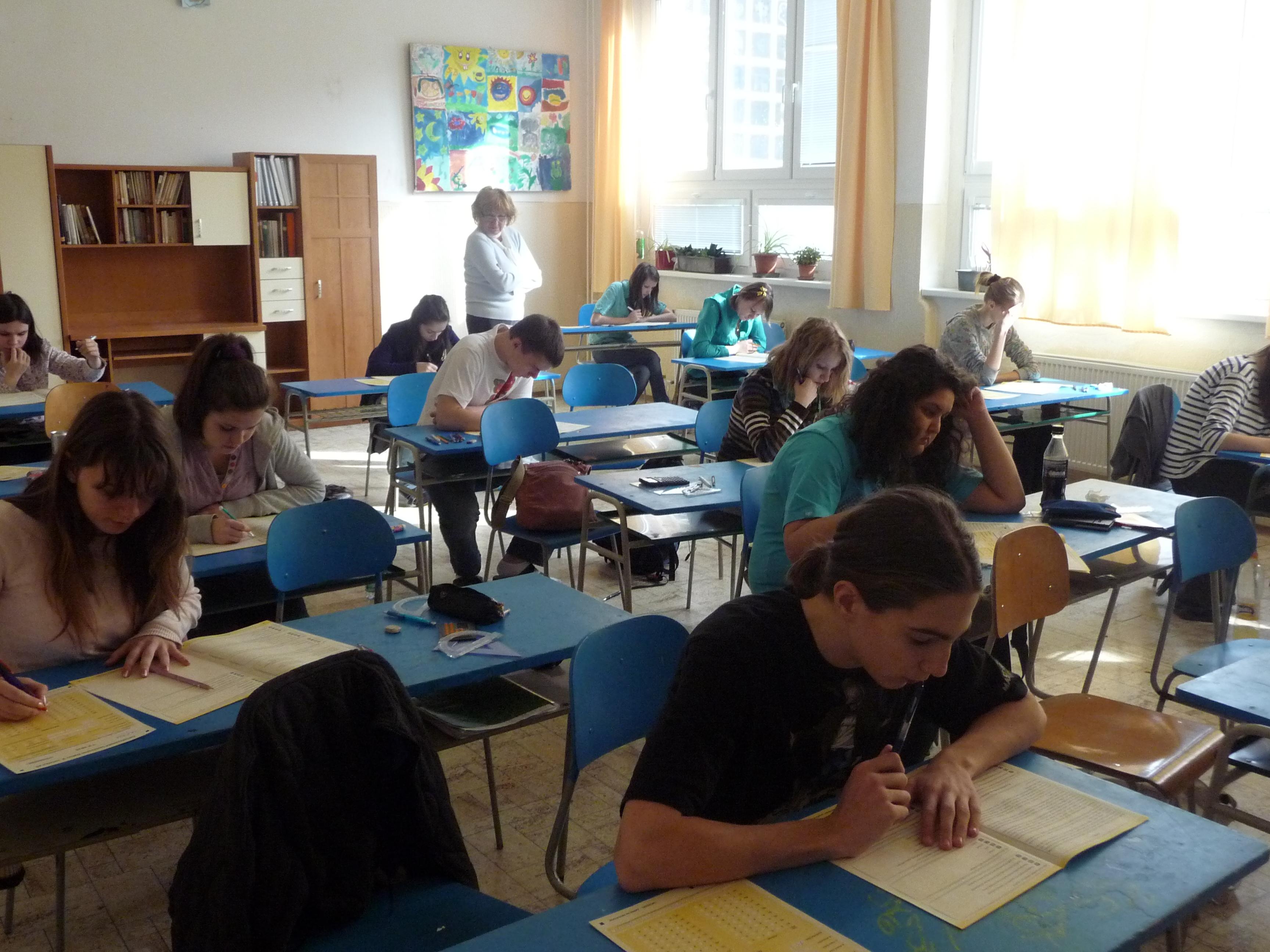 Celoplošné testovanie žiakov 9. ročníka