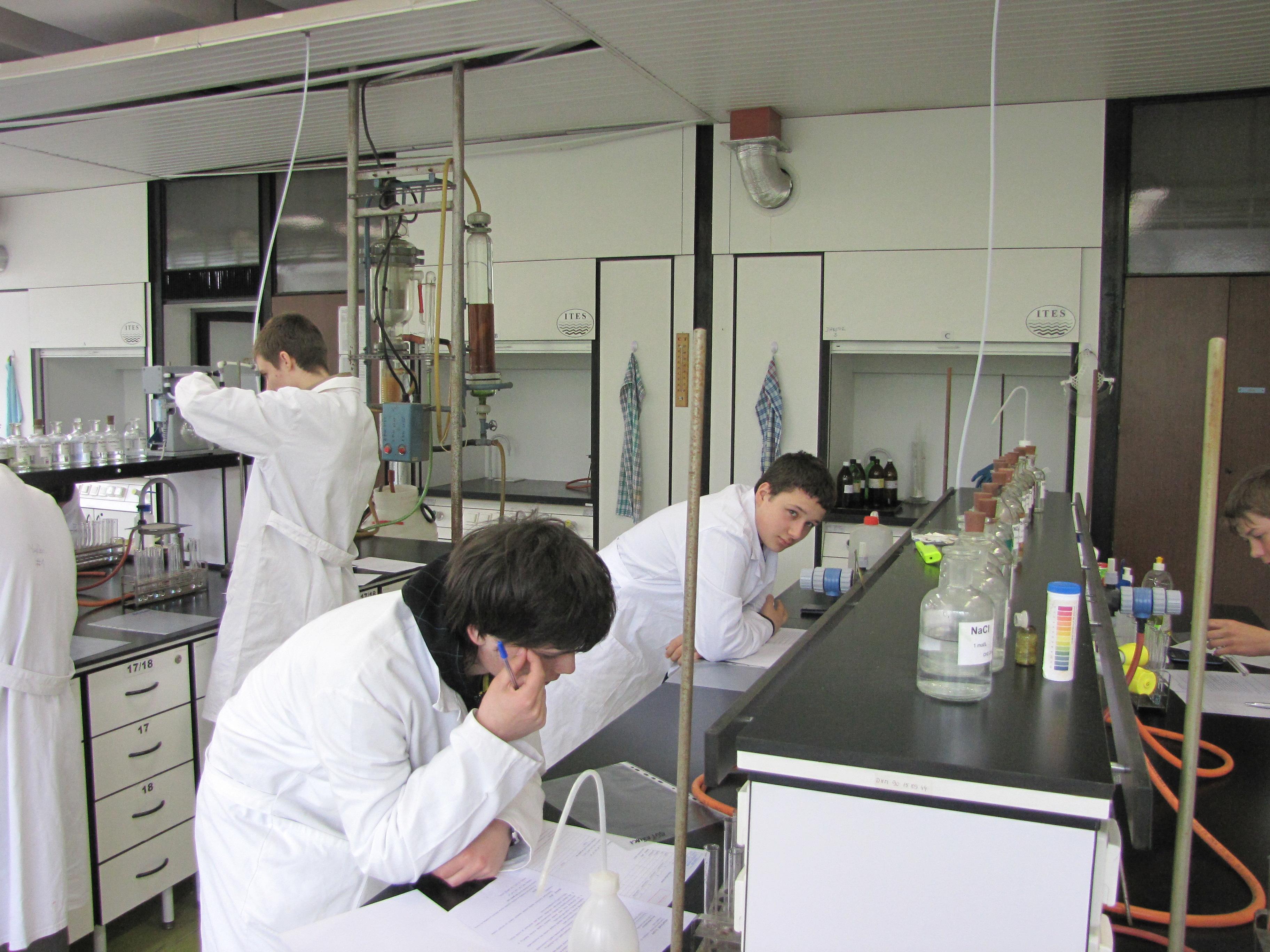 Krajské kolo chemickej olypiády