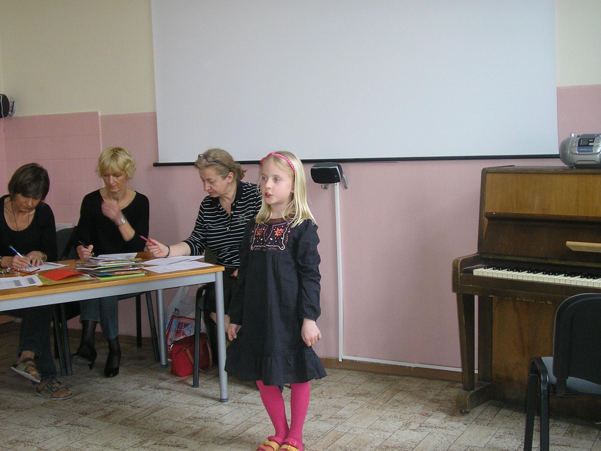 Školské kolo speváckej súťaže Slávik Slovenska