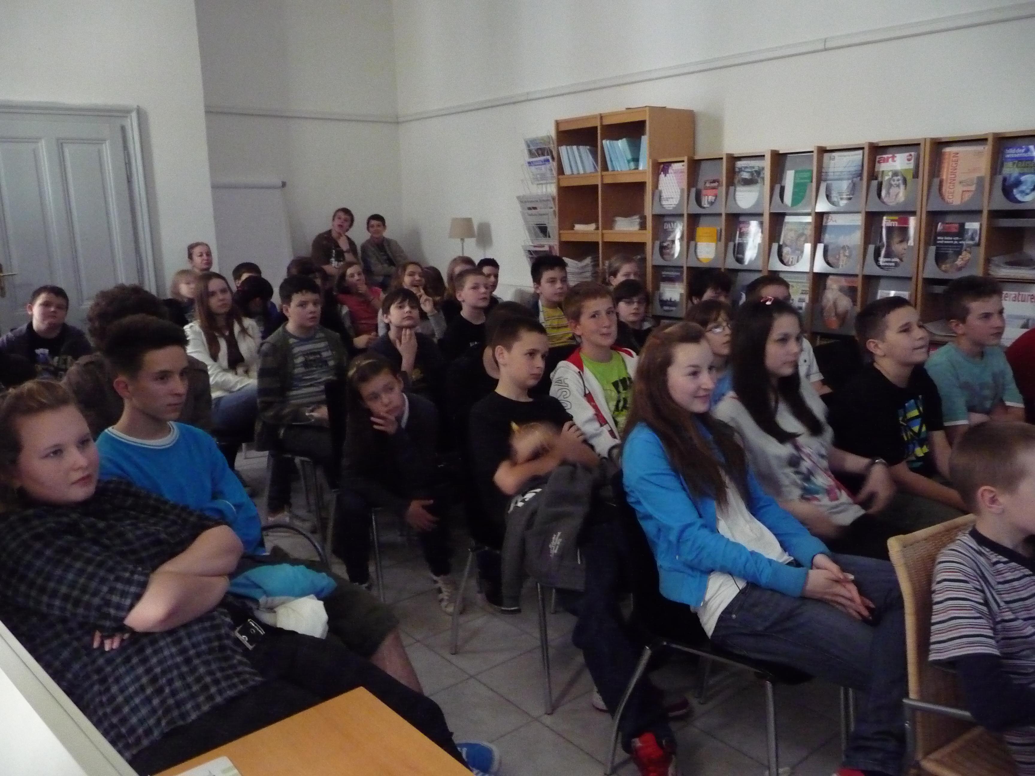 Návšteva Goetheho inštitútu