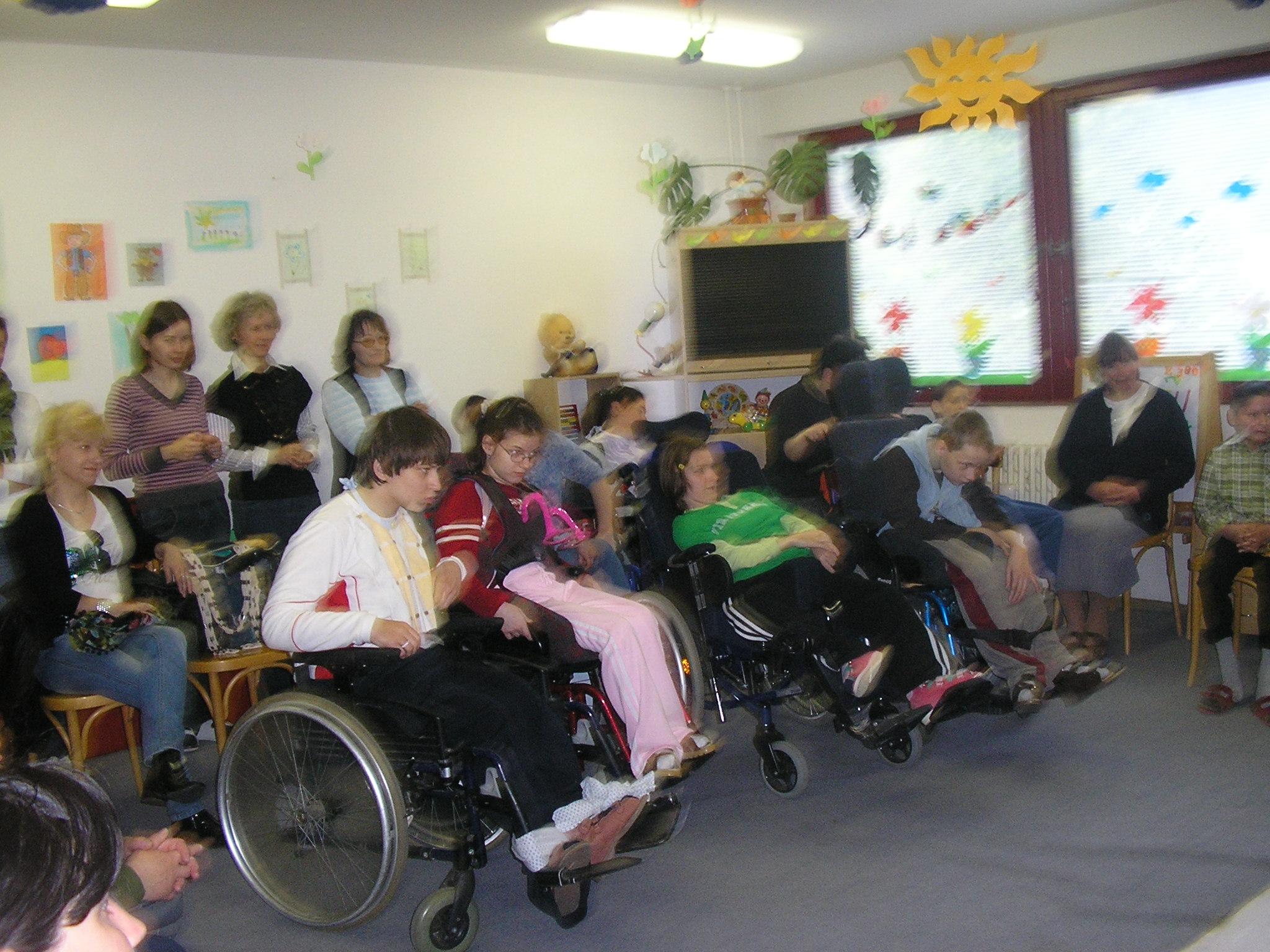 Návšteva školy pre žiakov s telesným postihnutím