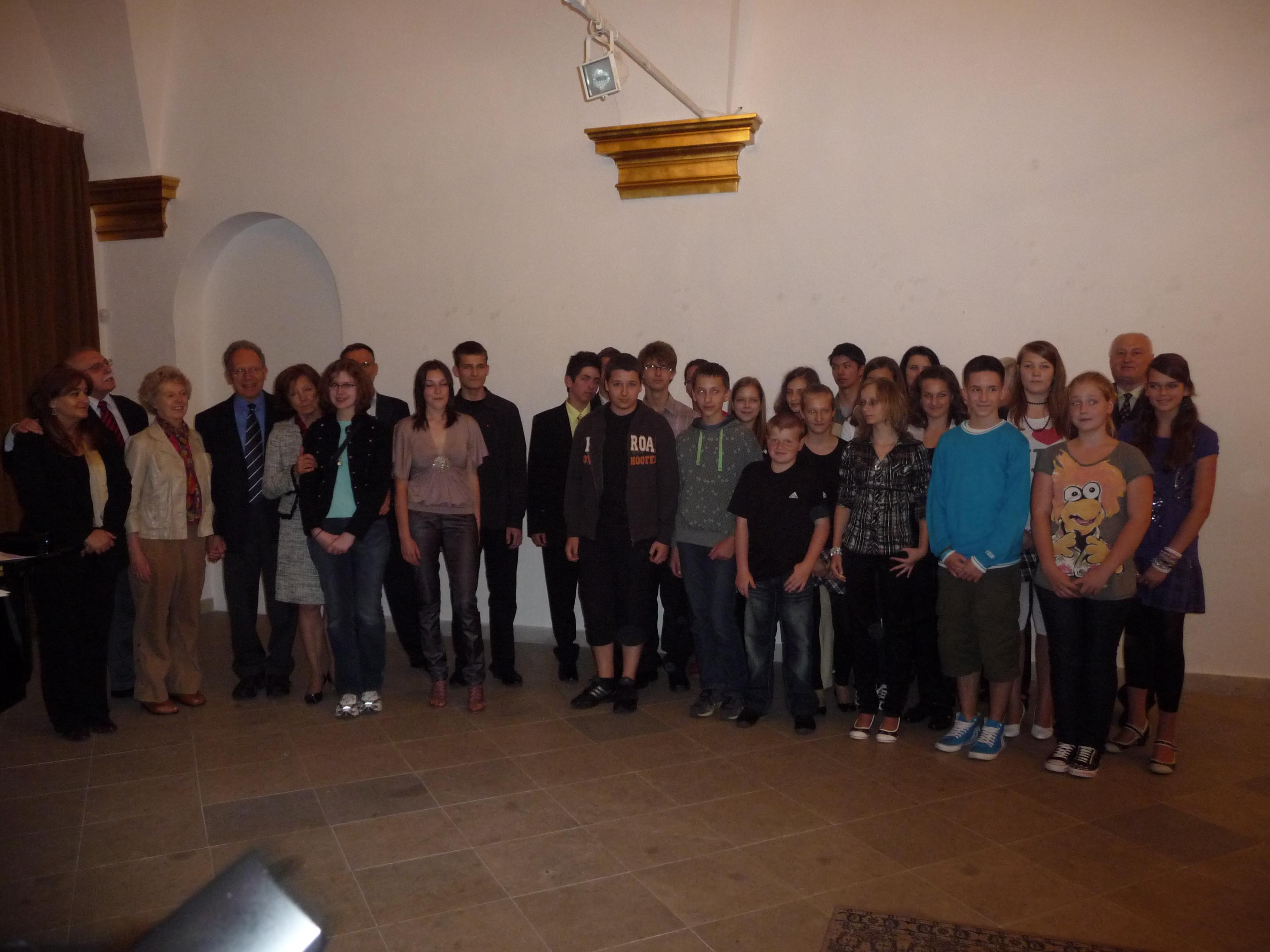 Hodžov novinový článok 2010. Slávnostné vyhodnotenie celoslovenskej literárnej súťaže.