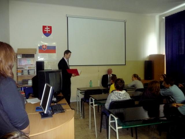Beseda s Jánom Solovičom - projekt Náš spisovateľ