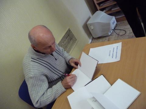 Beseda s Antonom Laučekom - projekt Náš spisovateľ