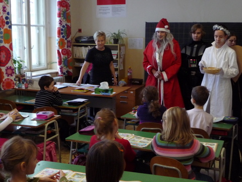 Návšteva Mikuláša - deviataci pokračujú v tradícii