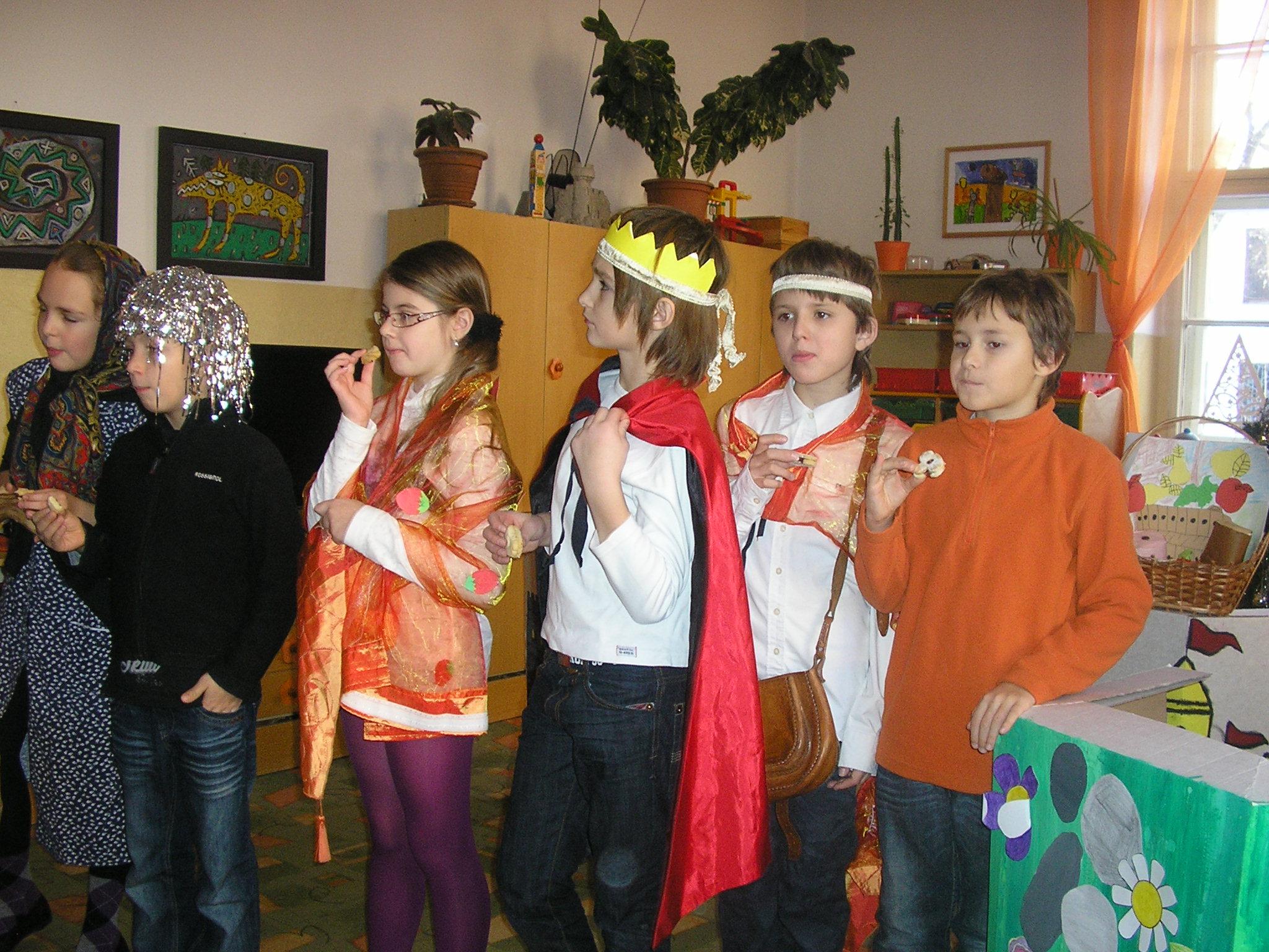 Škôlkari a školáci