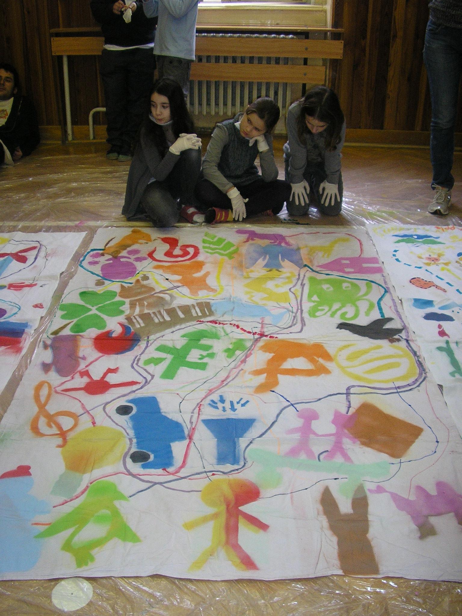 Medzinárodný projekt Science Grafitti – plátno interkultúrneho porozumenia