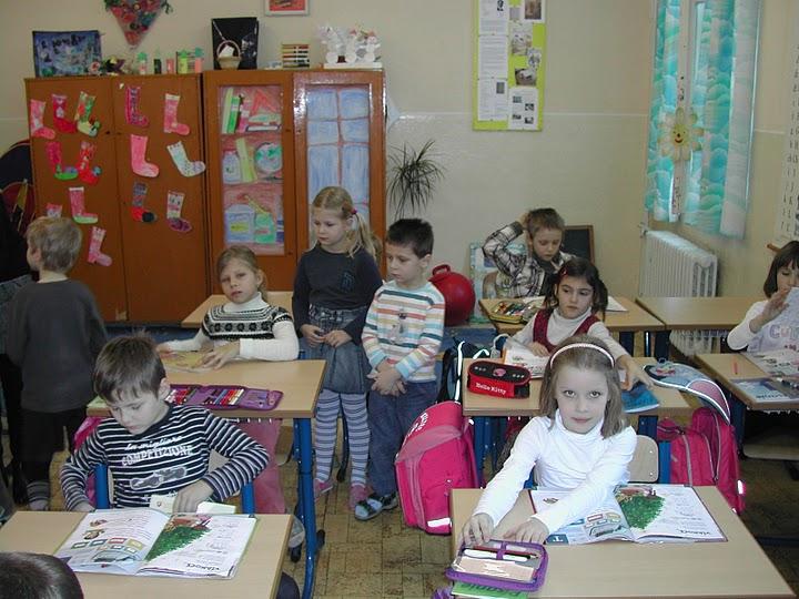 Predškoláci na nášteve v škole