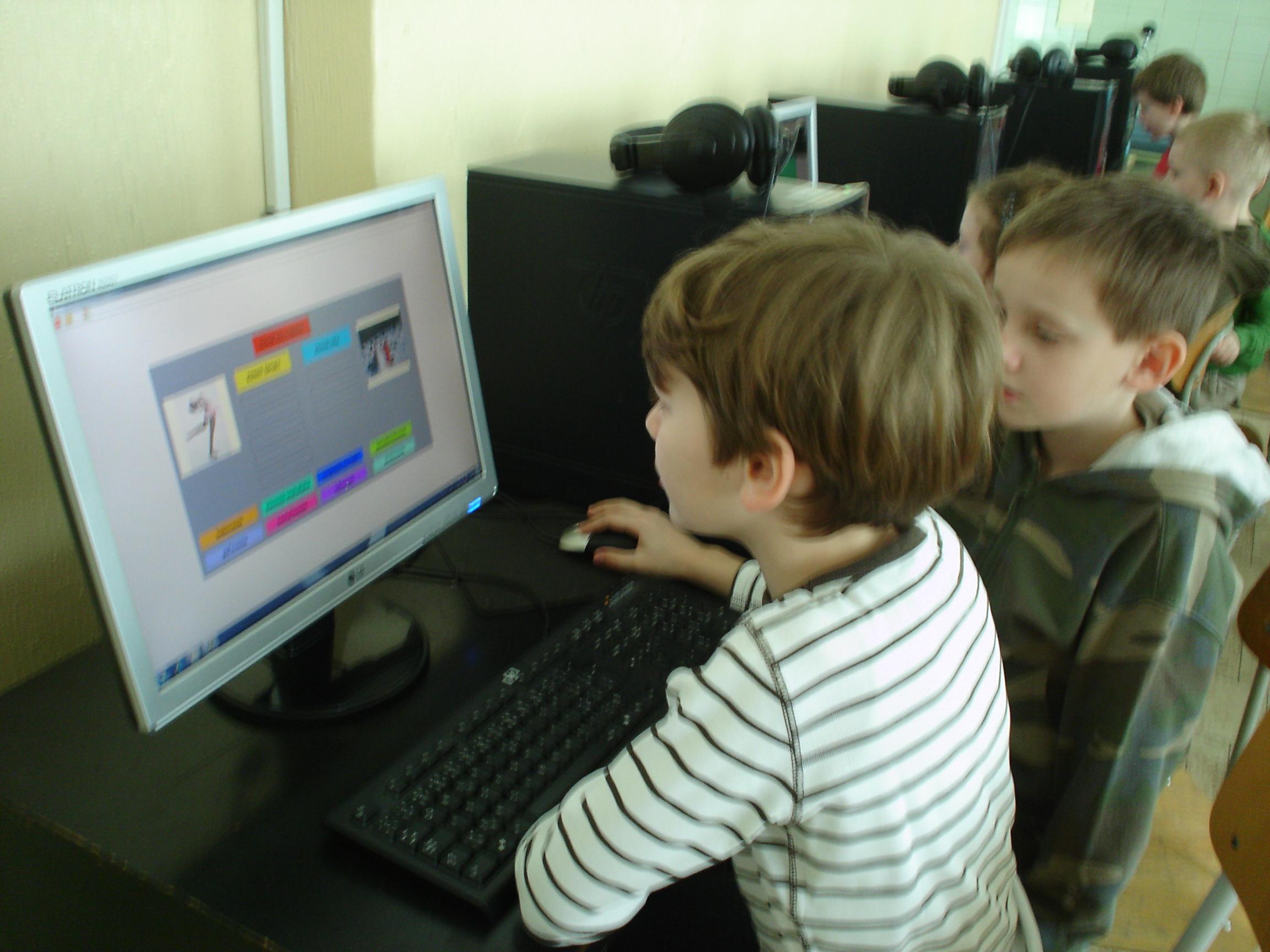 Práca na informatickej výchove