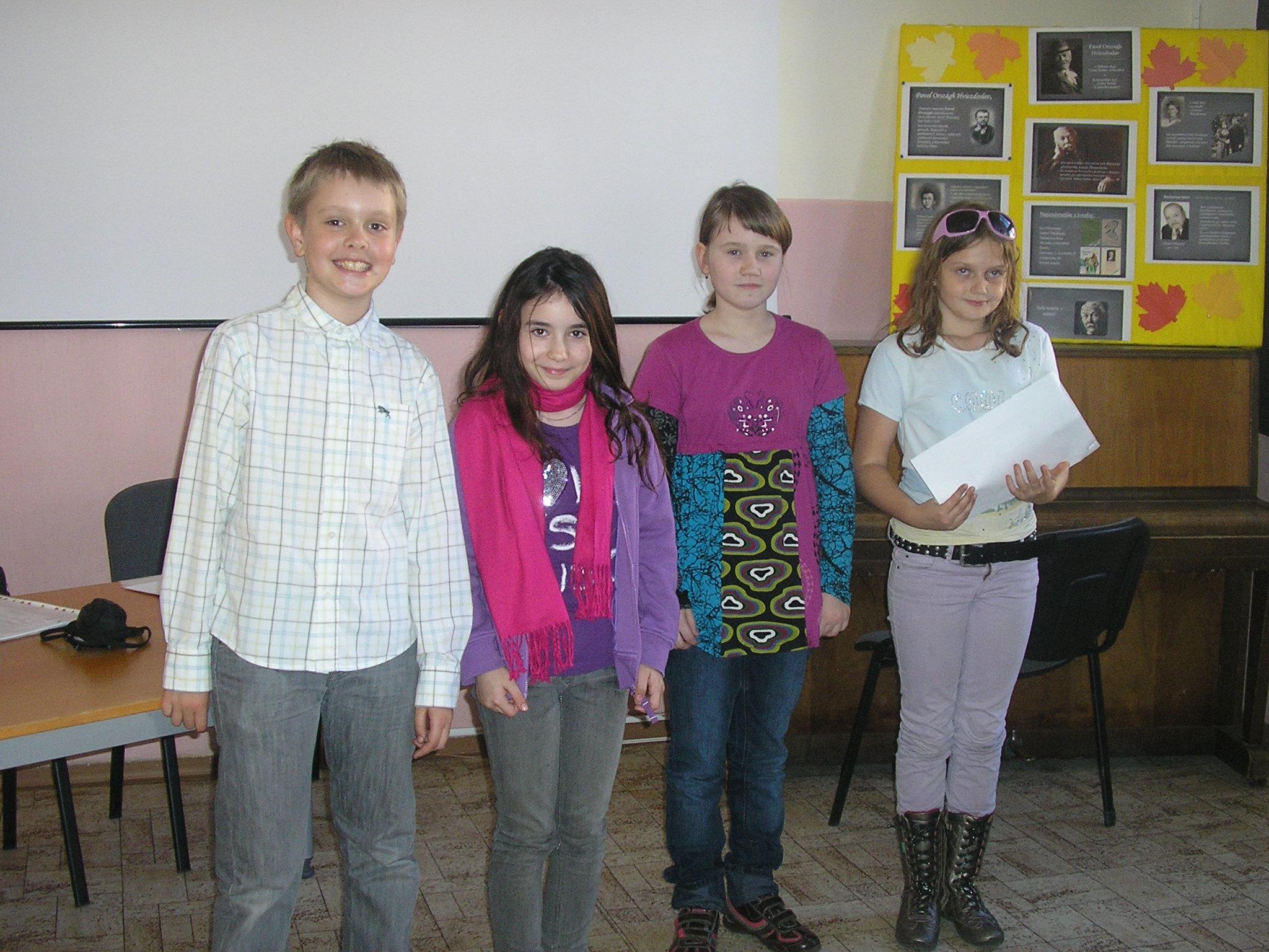 Slávik Slovenska - školské kolo