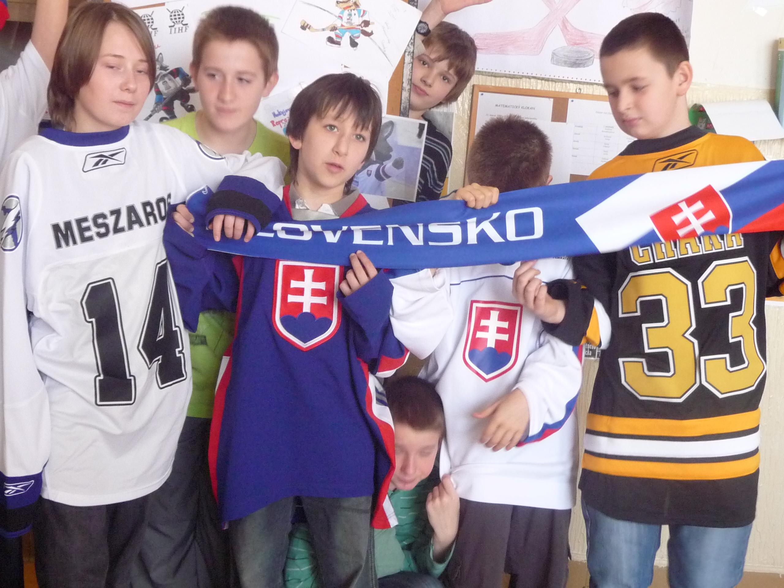 Vyzdob si svoju školu hokejom