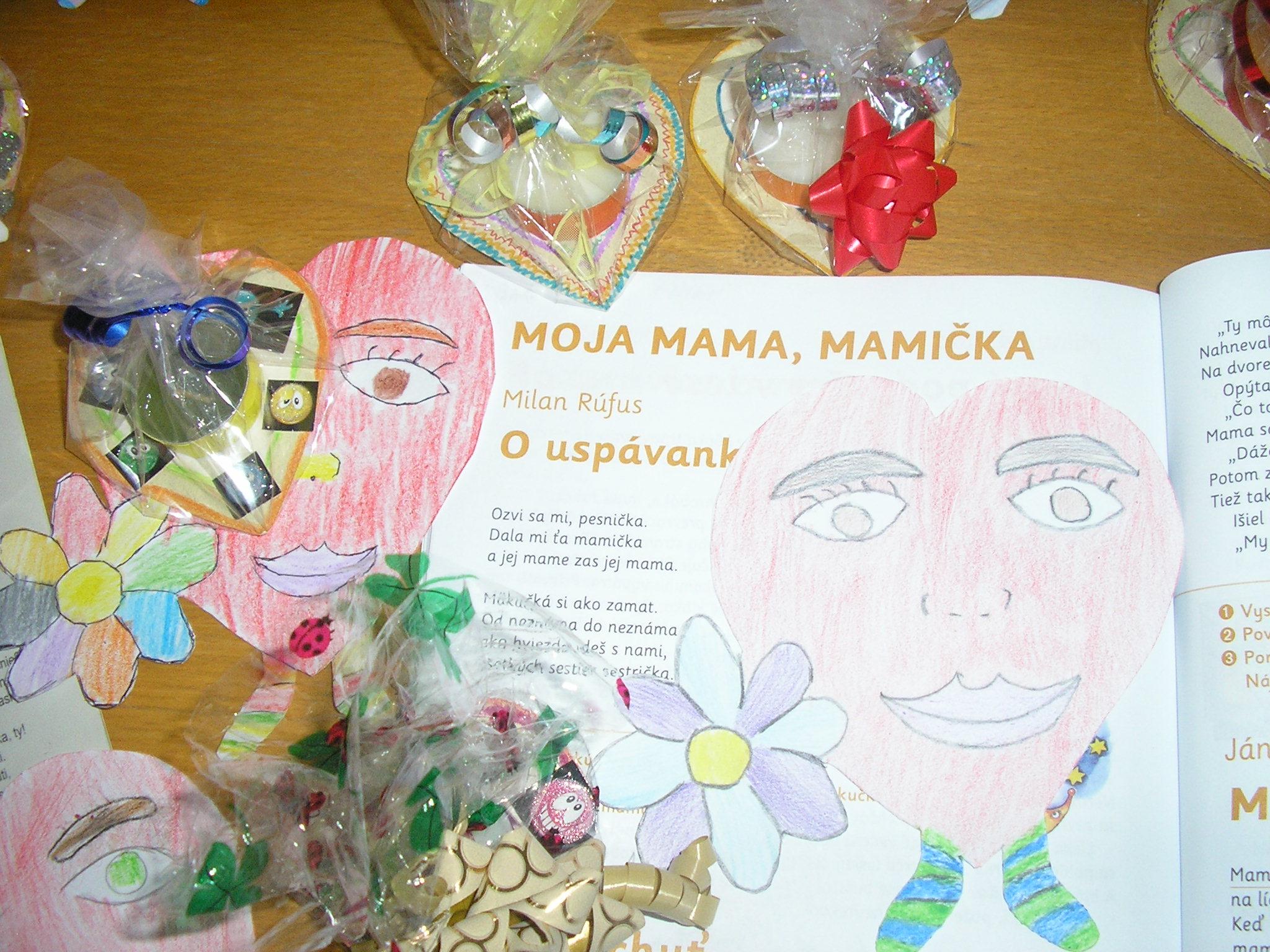 Darčeky ku Dňu matiek