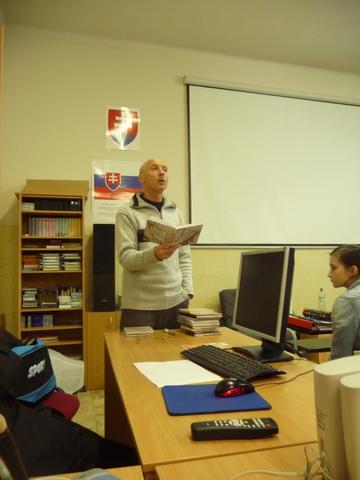 Ďalšie stretnutie s Antonom Laučekom - Projekt Náš spisovateľ