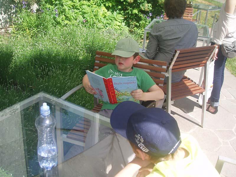 Letná čitáreň U červeného raka