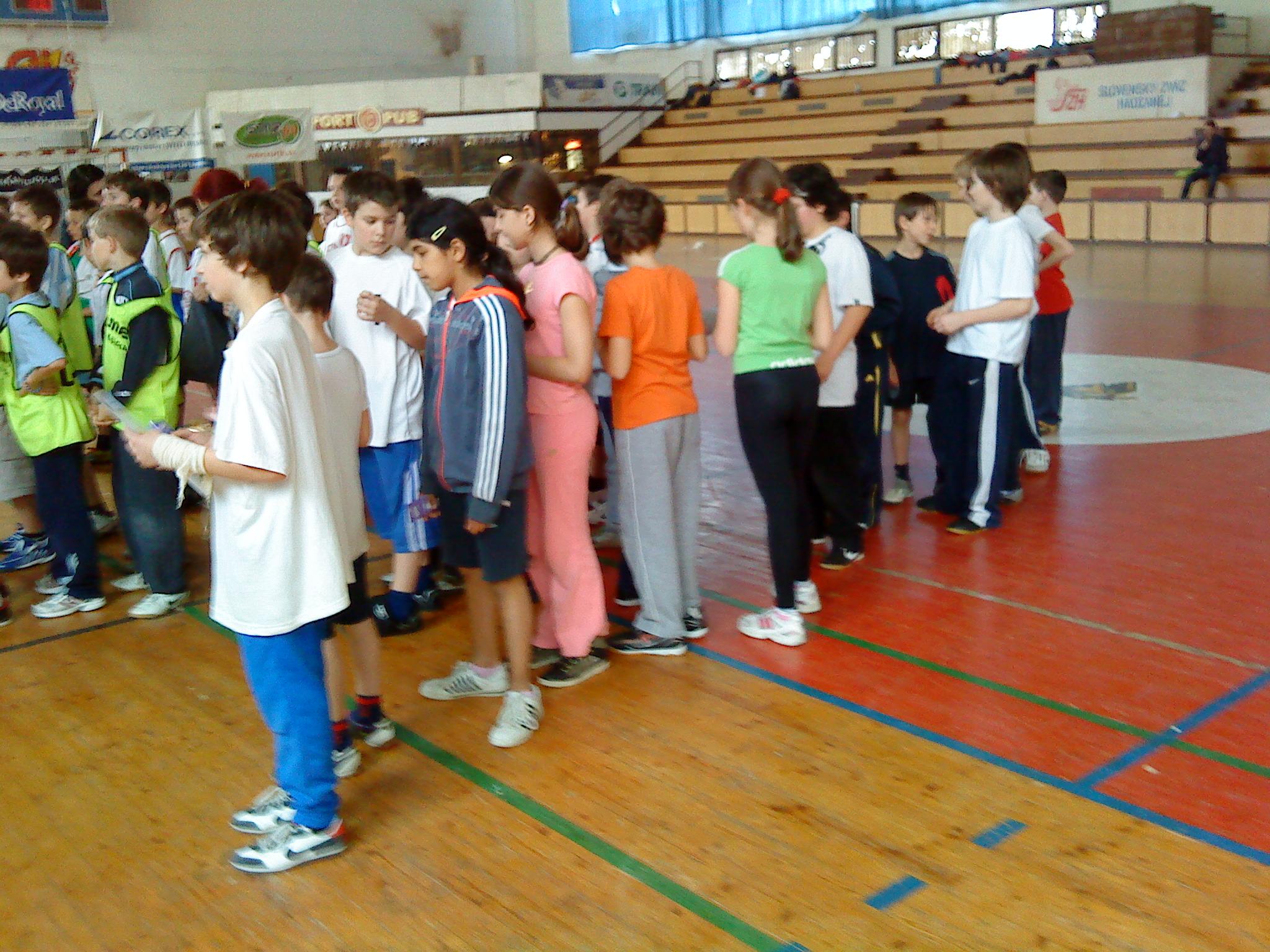 Turnaj vo vybíjanej - medailové umiestnenie medzi bratislavskými školami