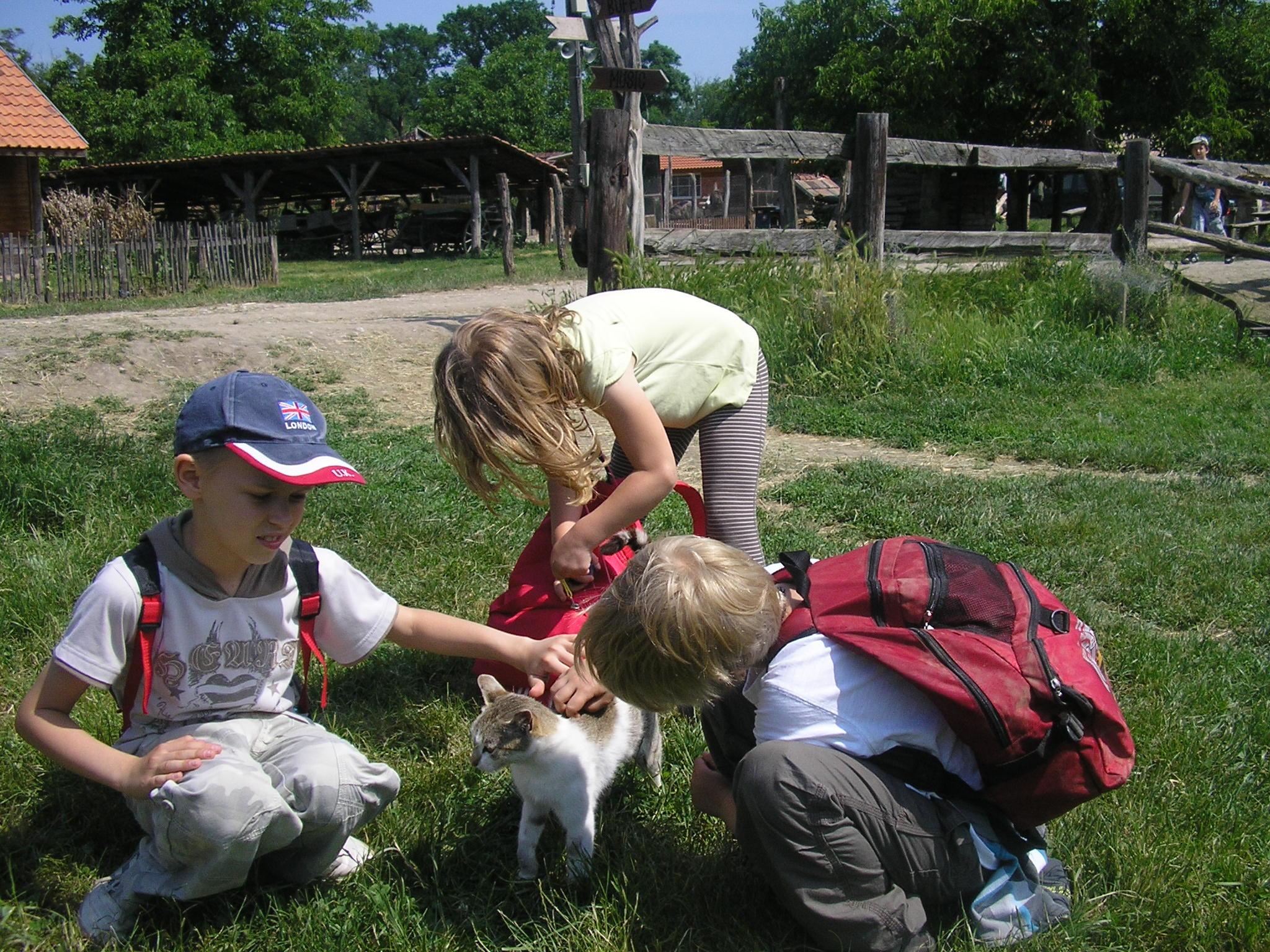 Výlet na farmu Humanita