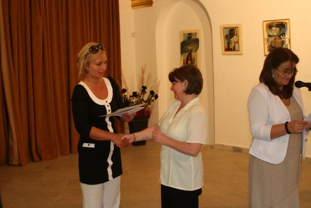 Slávnostné vyhodnotenie celoslovenskej literárnej súťaže Hodžov novinový článok 2011