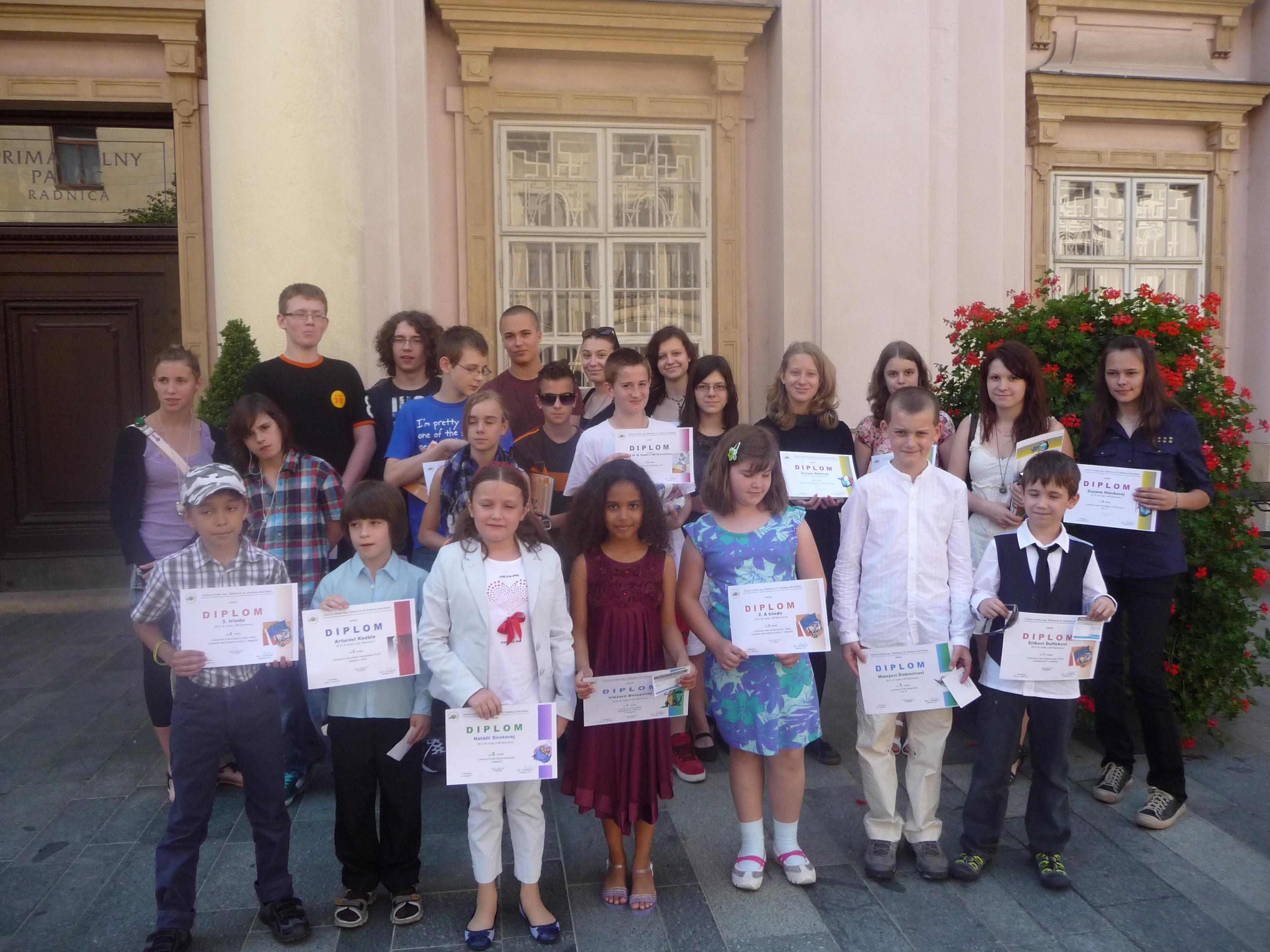 Naše úspechy v školskom roku 2010/2011