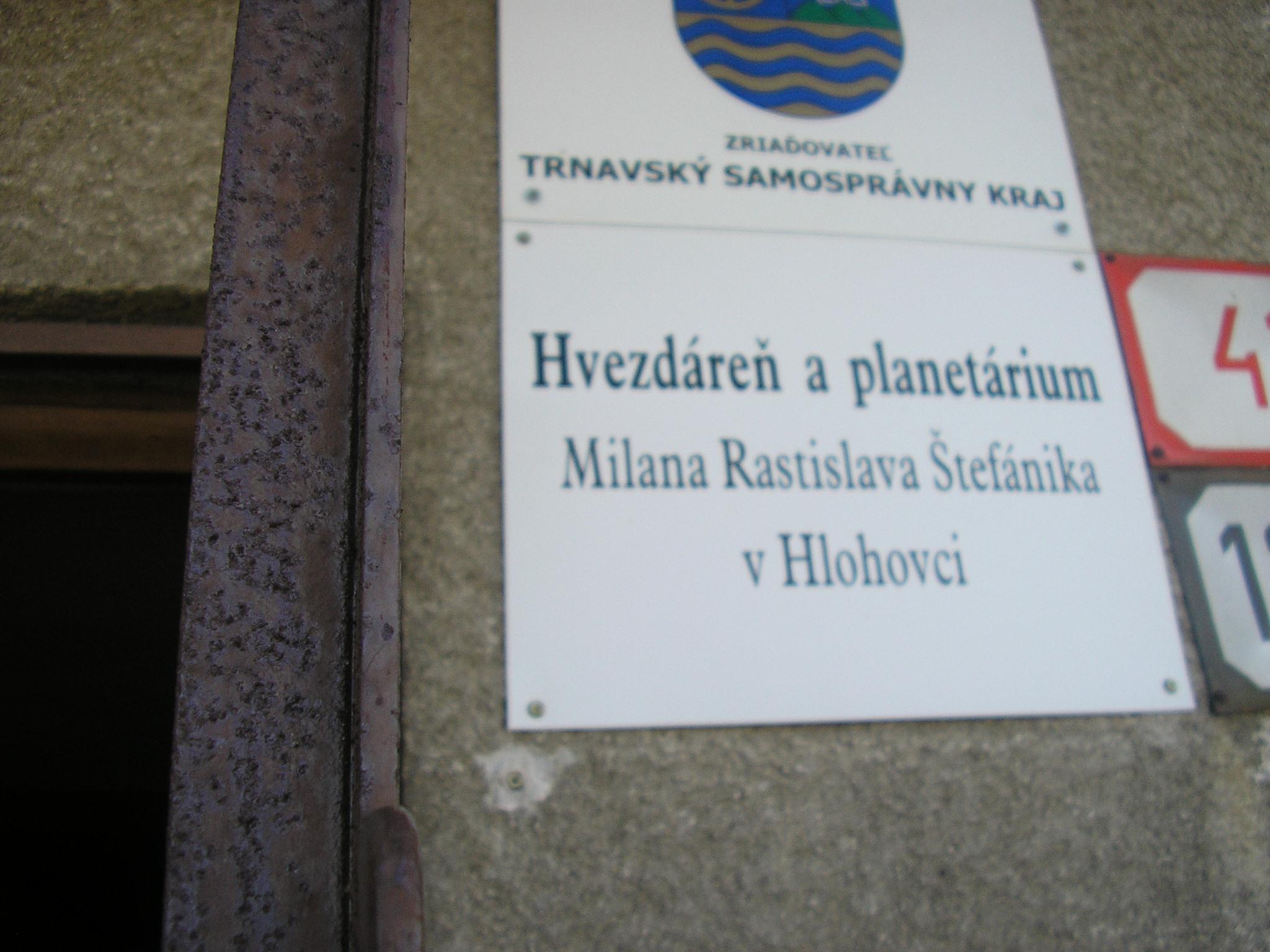 Planetárium v Hlohovci