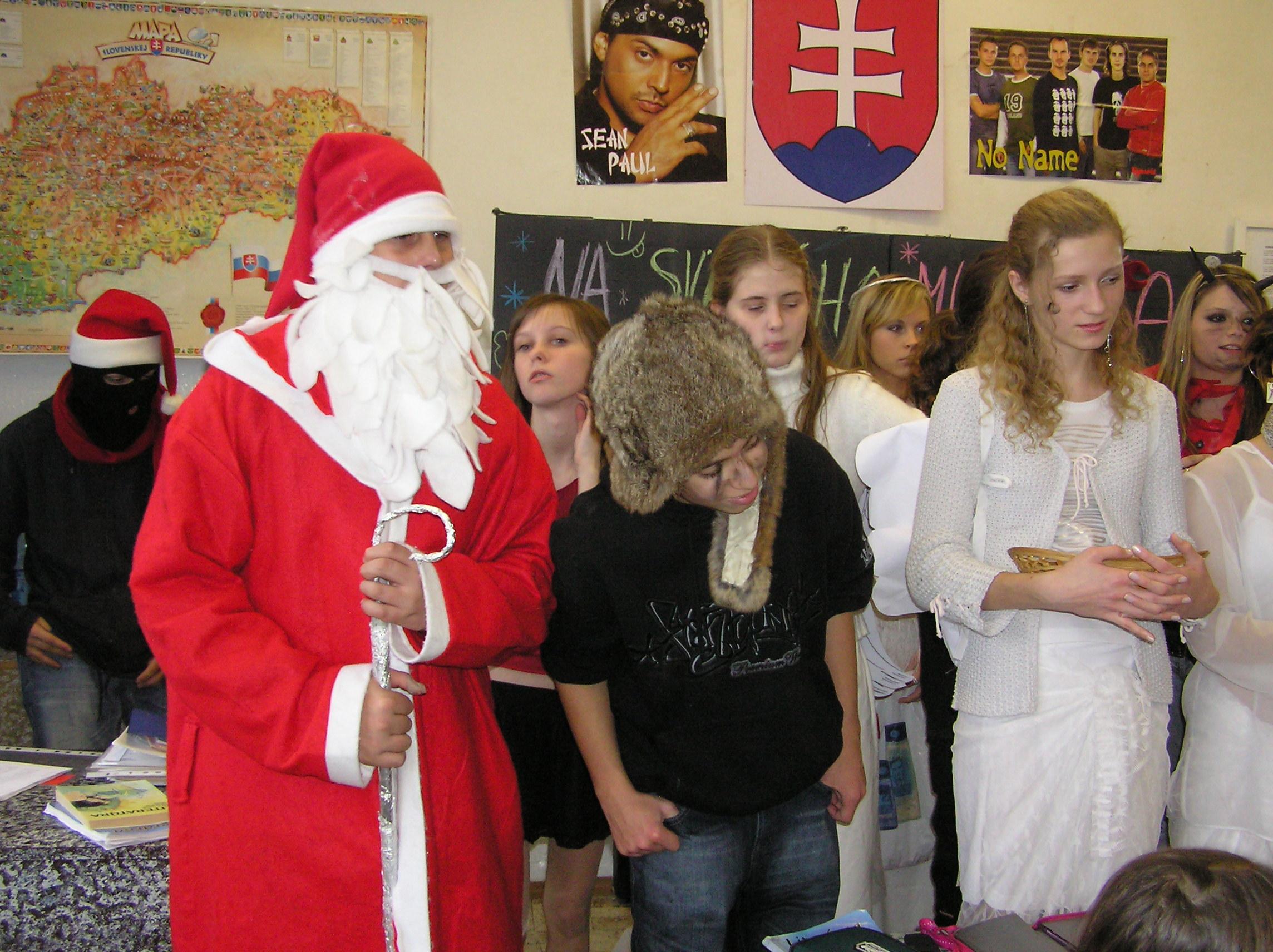 Mikuláš v našej škole