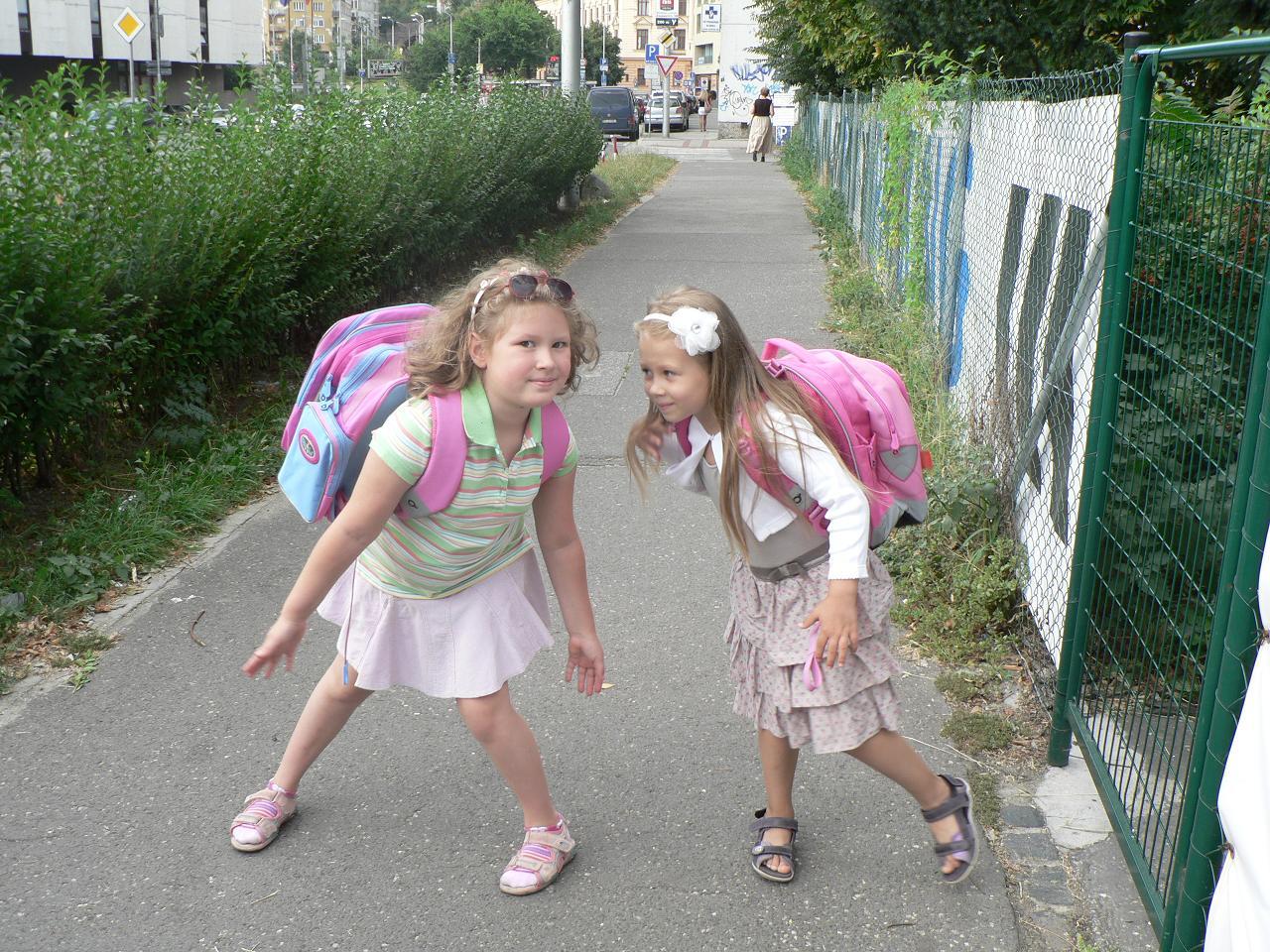 Prvý deň v škole