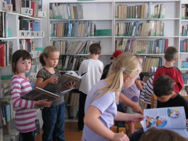 Návšteva v Mestskej knižnici na Kapucínskej ulici