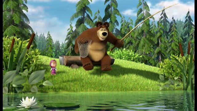 """Divadelné predstavenie """" Máša a medveď"""""""