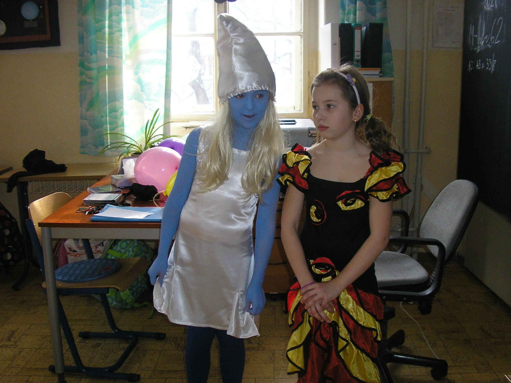 Fašiangový karneval na 1. stupni - Tradície našich predkov