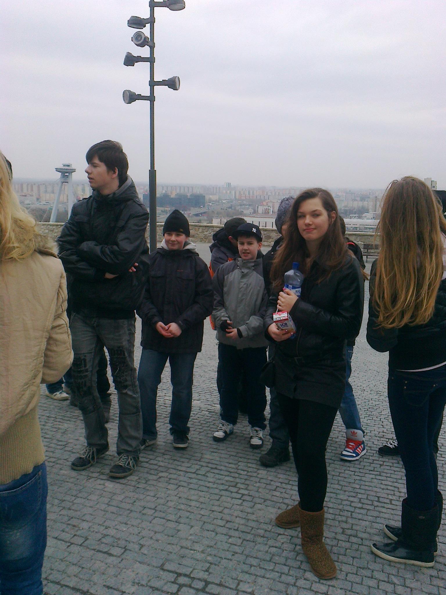 Návšteva Bratislavského hradu