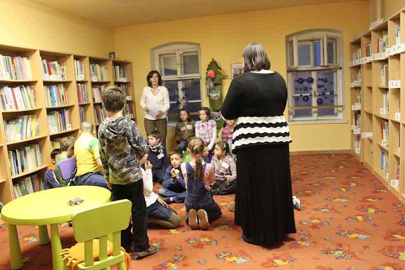 Rozprávková noc v knižnici