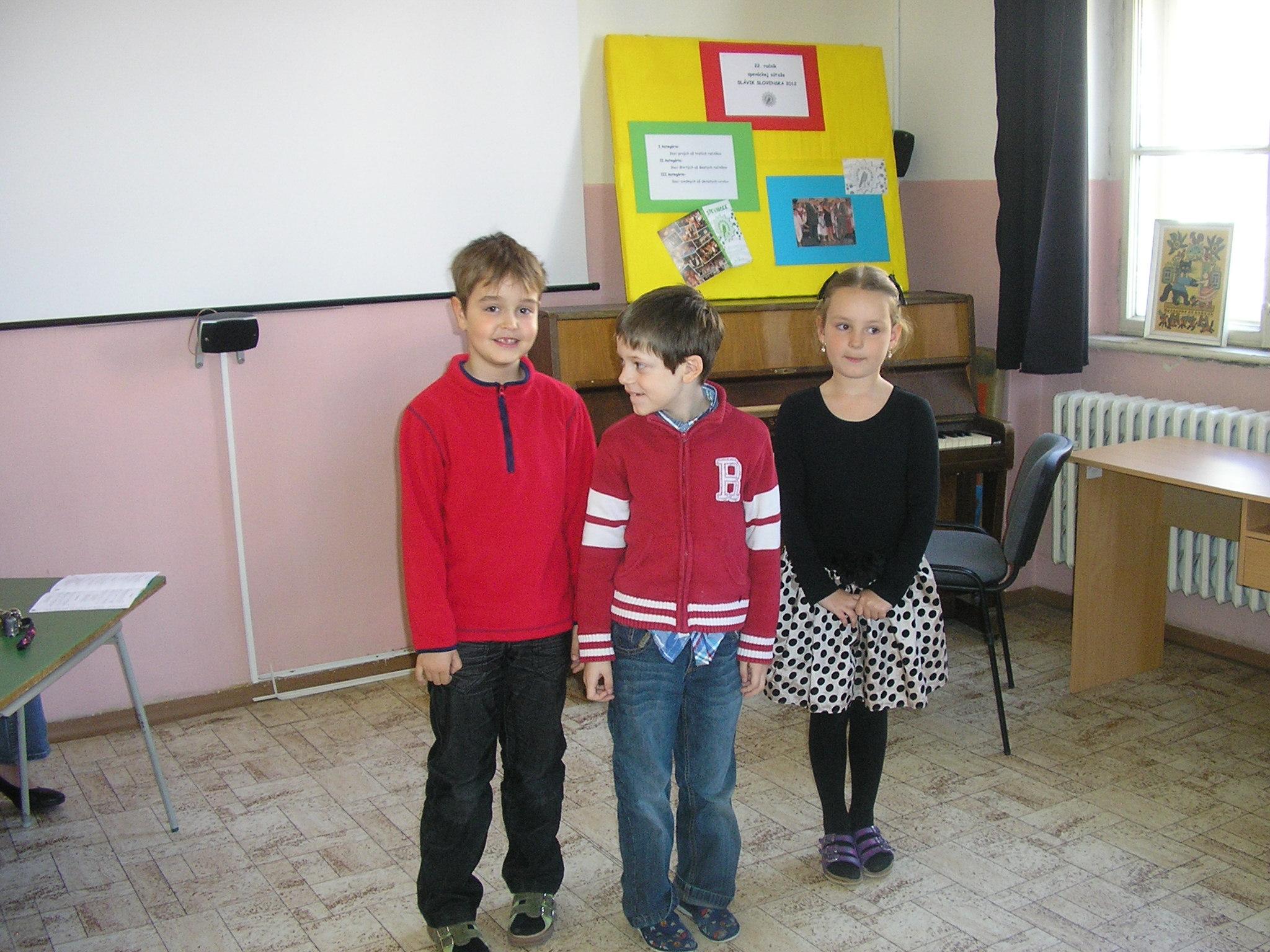 Slávik Slovenska 2012
