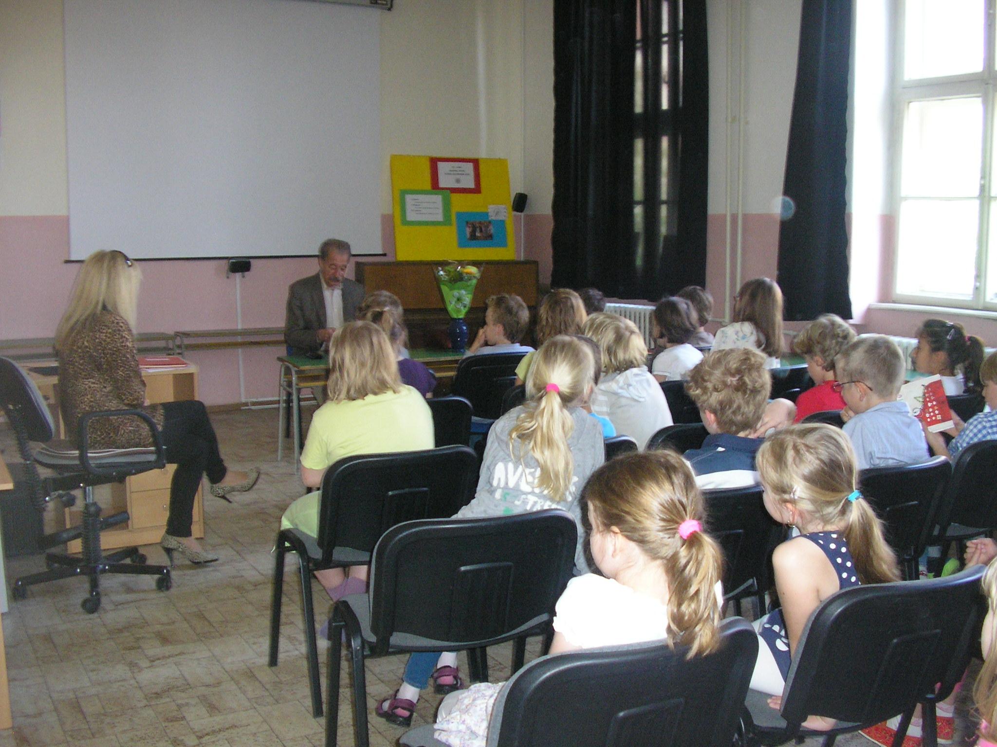 Beseda s Tomášom Janovicom - projekt Náš spisovateľ