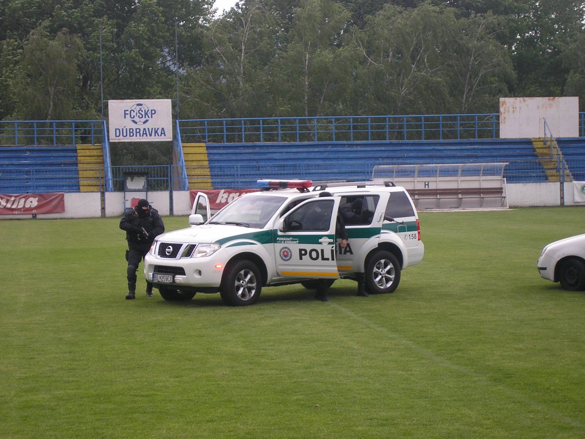Ukážky policajnej činnosti