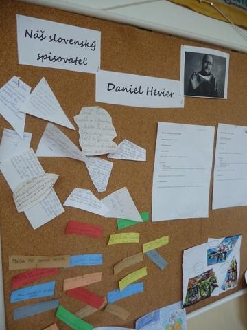 Vyhodnotenie projektu Náš spisovateľ – 2. stupeň