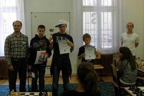 Skvelé výsledky našich žiakov na majstrovstvách obvodu v šachu