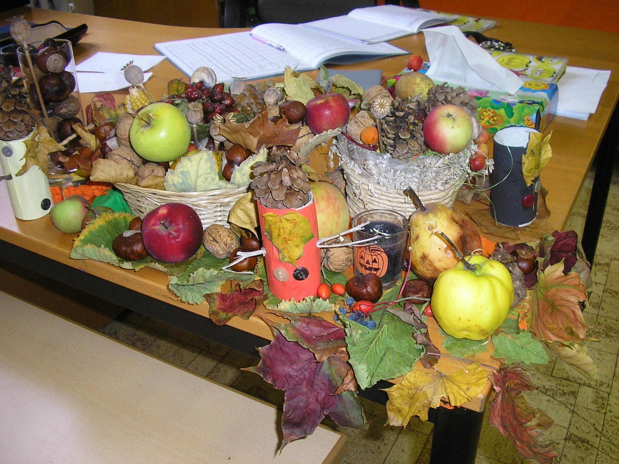 Triedy ožili jeseňou