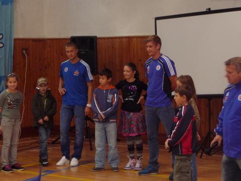 Návšteva futbalistov