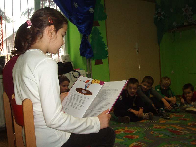 Veľkí čítajú malým