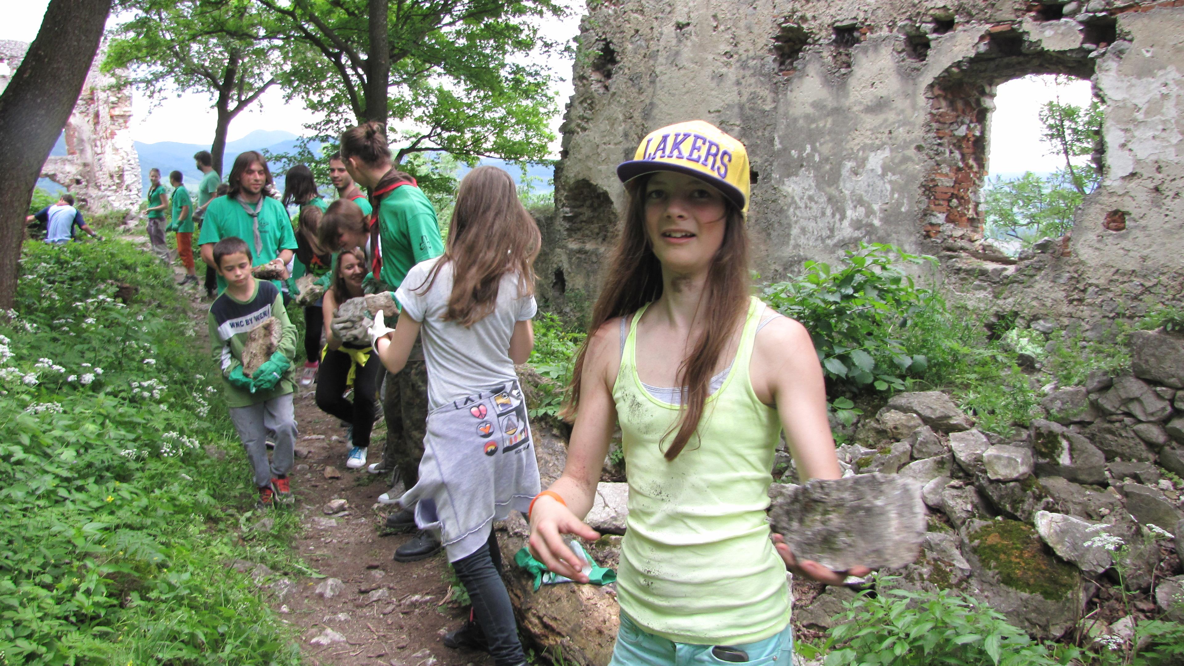Brigáda na Plaveckom hrade