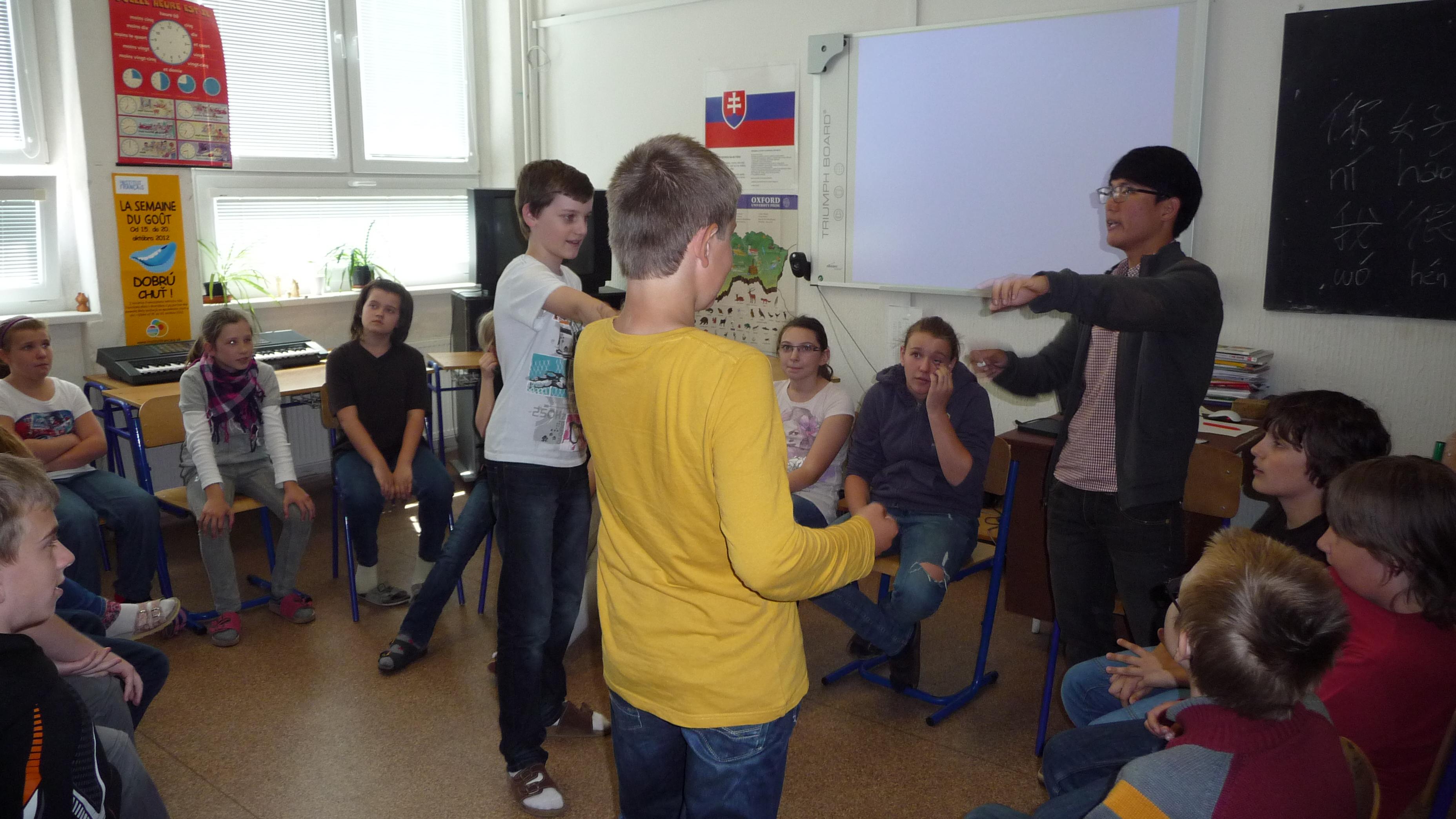 Educate Slovakia - Svet v Bratislave