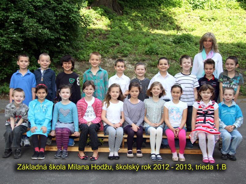 Spoločné fotografie tried a učiteľov v roku 2012/2013