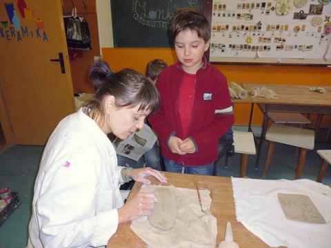 Keramika v CVČ